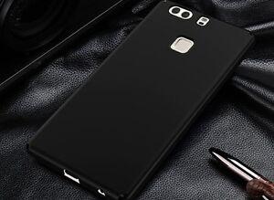 Cover case custodia HUAWEI P9 TPU ultra slim silicone nera morbida 0,3mm