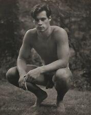 1987 Vintage BRUCE WEBER Outdoor Male Nude Model BILLY Photo Gravure Art 11X14