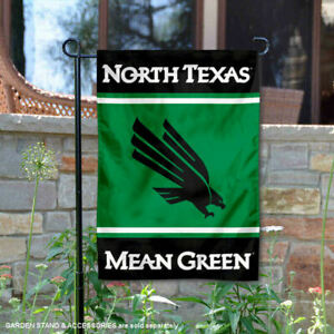 University of North Texas Garden Flag and Yard Banner
