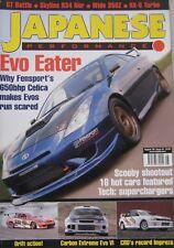 Japanese Performance magazine 08/2006 featuring Mitsubish, Nissan, Impreza