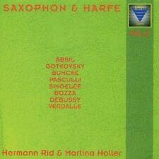 SAXOPHON & HARFE, VOL. 2 NEW CD