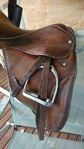 Stubben Brown dressage Saddle  18inch