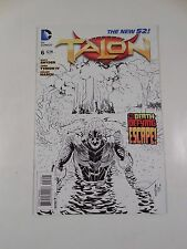 RARE DC COMICS NEW 52 TALON #6 BLACK & WHITE SKETCH VARIANT BATMAN SCOTT SNYDER