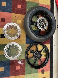 Suzuki GSXR600 GSXR750 Dymag Wheels