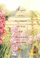 Marjolein Bastin Wood Fence & Nature Thinking Of You Hallmark Greeting Card