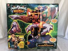 Power Rangers Wild Force Deluxe Isis Command Megazord W/ Original Box Bandai