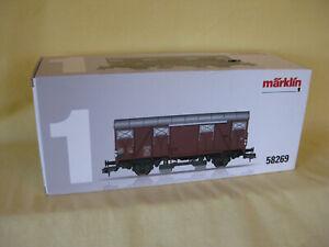 Märklin 58269 Güterwagen mit Schienenreinigung   Spur 1