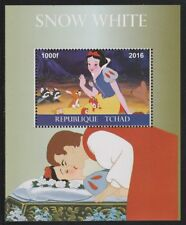 Chad 6750 - 2016  DISNEY's SNOW WHITE  perf s/sheet  unmounted mint