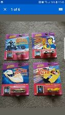 Speed Racers x4 Johnny Lightning with film strip 1997 1st edition full set