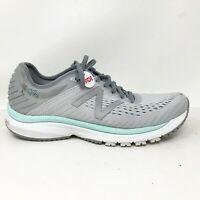 New Balance Womens 860 V10 W860P10 Gray Running Shoes Lace Up Low Top Size 9.5 D