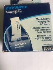 Dymo 30376 Pendaflex 1/5th Cut Hanging File Tab Inserts