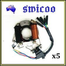 5xMagneto Stator Plate Rotor 50cc 90cc 110cc 125cc Dirt Bike Quad Buggy E/Start