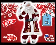 MWGEAR Premium Deluxe Velvet Santa Clause Costume Suit XL Fits Most – BRAND NEW