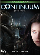 Continuum Season 4 out of Time Series Four Fourth DVD (2 Discs)