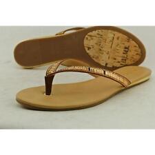 Sandalias con tiras de mujer marrón, talla 41
