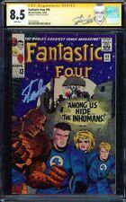 FANTASTIC FOUR #45 CGC 8.5 WHITE SS STAN LEE 1ST APP OF THE INHUMANS 1227702025