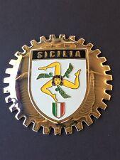 CAR GRILLE EMBLEM BADGES ITALIAN TOURING CLUB