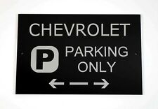 Chevrolet Parking Only Sign - Cars and Signage - Asscher Design, Great Britain