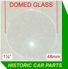"48mm (1⅞"") DOMED Auxilliary Dashboard Gauge GLASS for TRIUMPH TR4 1961-65"