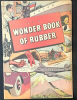 WONDER BOOK OF RUBBER Promo Comic Book 1955 ed. VG+ B.F. Goodrich Golden Age