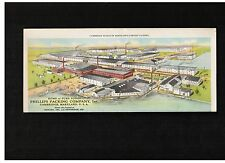 TWO Phillips Packing Company Cambridge MD COLOR #10 Advertising Covers ca. 1920s