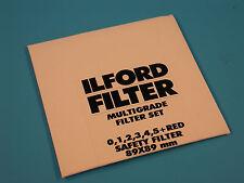 ILFORD Multigrade 89X89mm Filter Set - NEW - SEALED