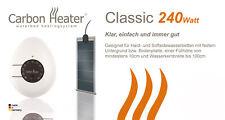 """T.B.D. Carbon Heater - """"Classic"""" 240 Watt - analog Heizung für Wasserbetten"""