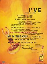 "Jose Cuervo ""Win The Cup"" Tequila 1996 Magazine Advert #4008"