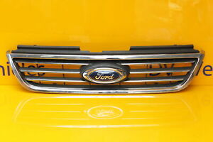 FORD GALAXY MK3 2010-2015 FRONT BUMPER TOP CHROME GRILL FORD BADGE