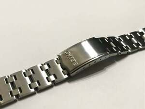 NEW SEIKO 19MM STAINLESS STEEL GENTS WATCH STRAP