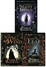Kingkiller Chronicle Patrick Rothfuss Collection 3 Books Set Name of the Wind