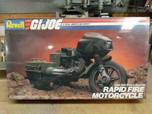 1982 Revell GI Joe rapid fire motorcycle ram 4 3/4 model kit 8900 NIB
