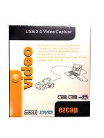 EZCAP116 USB 2.0 Video Capture for XP,Vista,Windows 7/8 32bit/64bit PS3 Xbox360