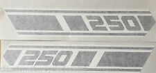 YAMAHA RD250 RD250D 1977  NEW SIDE PANEL DECALS X 2