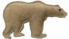 Ethical Pet Dura-Fused 7-Inch Leather Dog Toy Large Bear