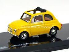 FIAT 500 F 1965 JAUNE 1/43  AV17DC