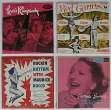 "10"" Records Sexy CHEESECAKE COVERS Red Garters Nymph Errant Lover's Rhapsody +"