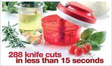 Tupperware SMART CHOPPER Vegetable Cuter- Chop and Prep Chef Mini Food Processor
