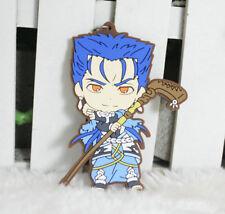 fate grand order fgo chulainn silicone key chain anime keychain new 1pc