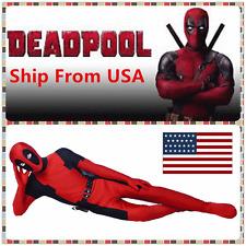 Avengers Halloween Lycra Spandex Full Body Deadpool Cosplay Costume Adult USA