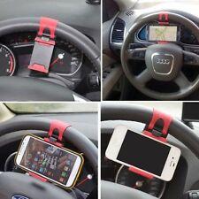 ✔ PORTACELLULARE SUPPORTO UNIVERSALE DA VOLANTE AUTO NAVIGATORE GPS SMARTPHONE