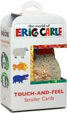 Eric Carle: Touch-and-Feel Stroller Cards ERIC by Eric Carle and Chronicle...