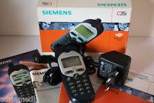 Siemens C35i 35 i Blau Silber Original Zustand  Handy  Ausstellungsgerät wie NEU