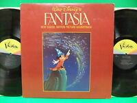 Walt Disney's Fantasia Digital Soundtrack 1982 2LP Record Vista 104 Mickey Mouse