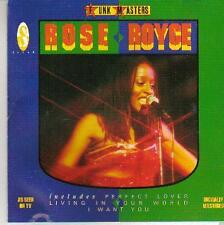 R & B cd album ROSE ROYCE FUNK MASTERS SOUL 1989