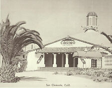 "SAN CLEMENTE Avenida Pico CASINO Dance GRAND BALLROOM Photo Print 1527 11"" x 14"""