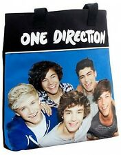 Official One Direction Shopper Bag 1D New Blue Style