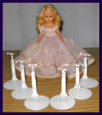 "FREE U.S. SHIPPING 6 KAISER Doll Stands for 7"" NANCY ANN STORYBOOK & DAWN Dolls"