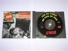 CD / LES TUBES DE VOS 20 ANS / 1968 / SUPER COMPIL / EXCELLENT ETAT