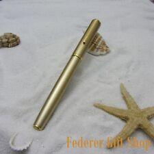 LISEUR gold Fountain pen New F nib gift ink pen